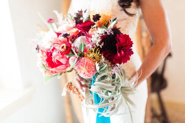 fiesta protea bouquet