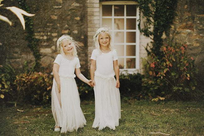 long tulle skirt flower girls