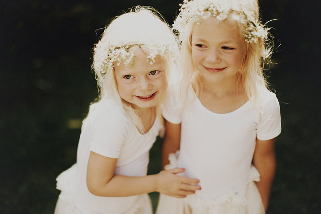 long tulle skirt flower girls
