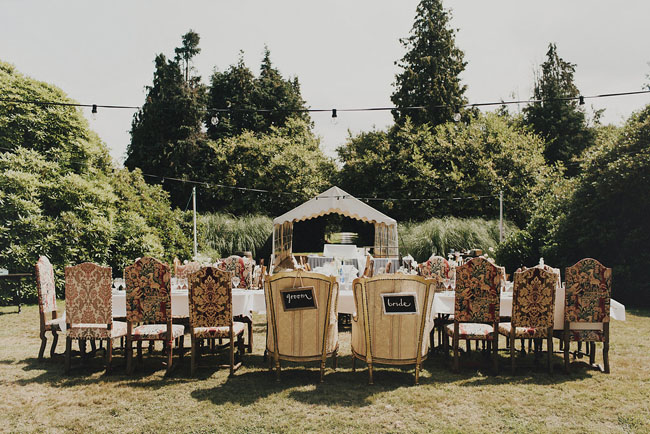 vintage french reception