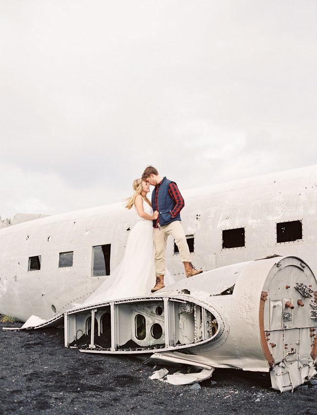 Abandoned Plane Iceland