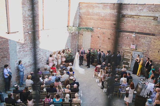 Industrial Brooklyn wedding