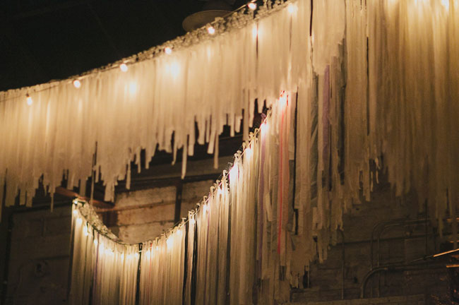 hanging fringe garlands