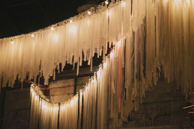 hanging fringe garlands
