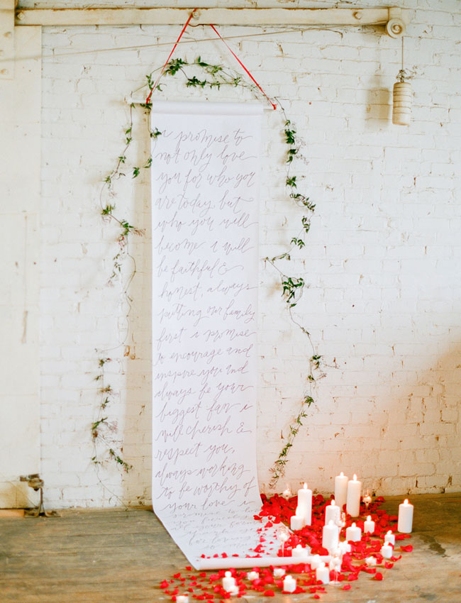calligraphy scroll backdrop