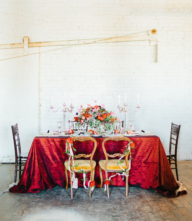 Valentines inspired tablescape