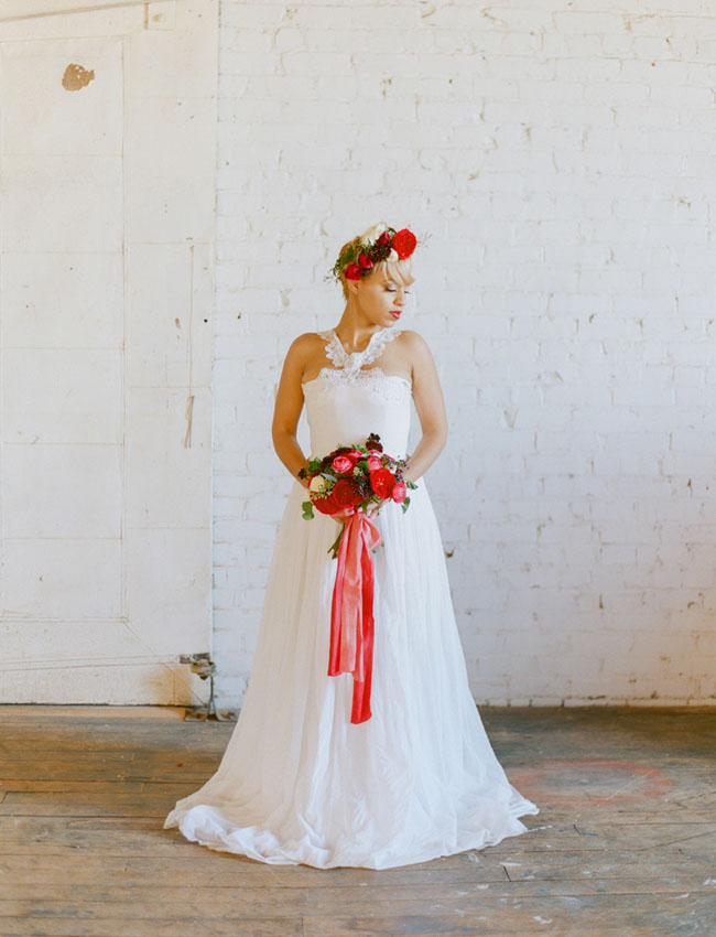 Veronica Shaeffer wedding dress