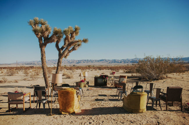 Joshua Tree eclectic ceremony