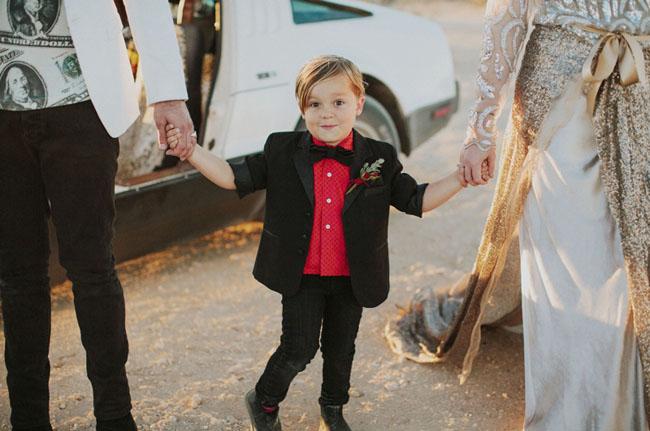 little guy bow tie