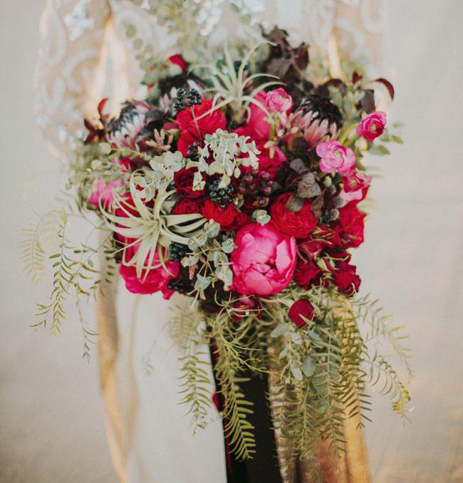 desert peony bouquet
