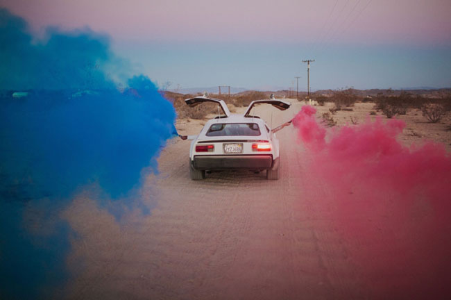 color smoke bombs