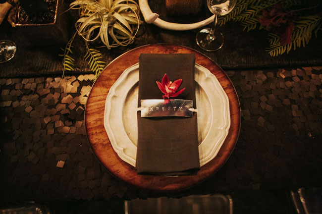 name plate napkin ring