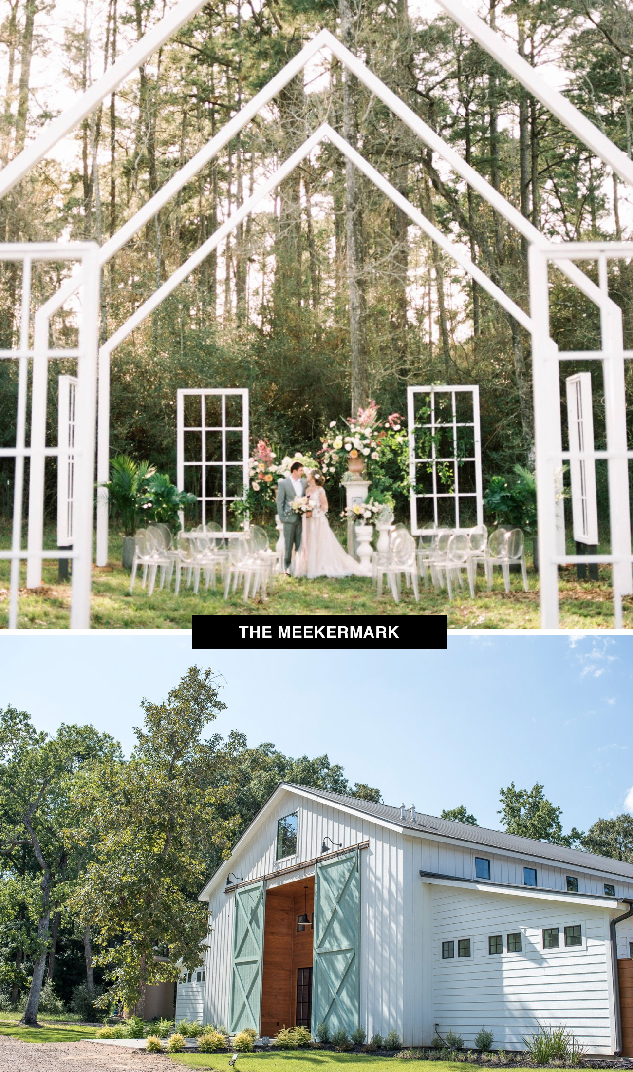 Meekermark wedding venue in Texas is an historic barn that would be a great place to get married