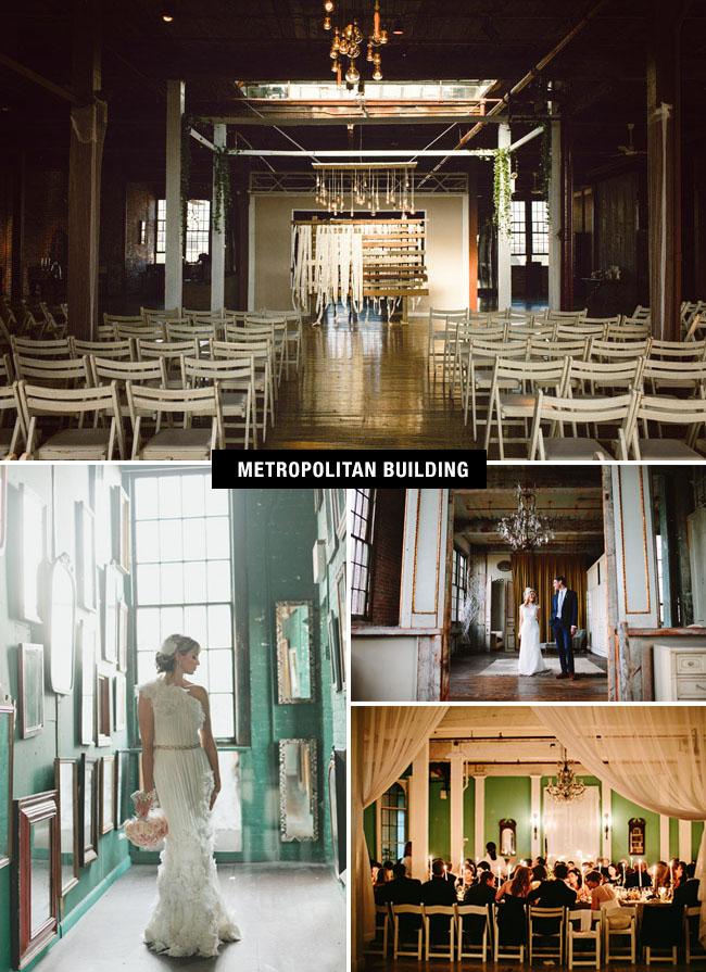 Metropolitan Building Wedding Venue