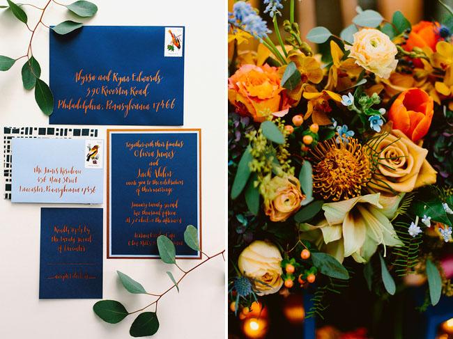 blue invite