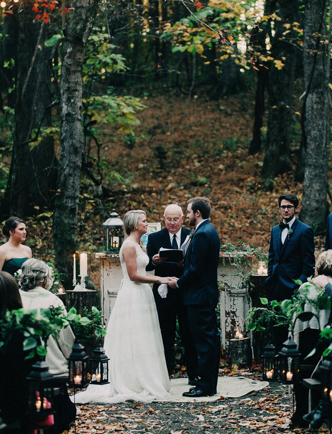 Georgia forest ceremony