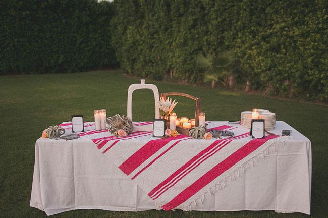 pink textile blanket