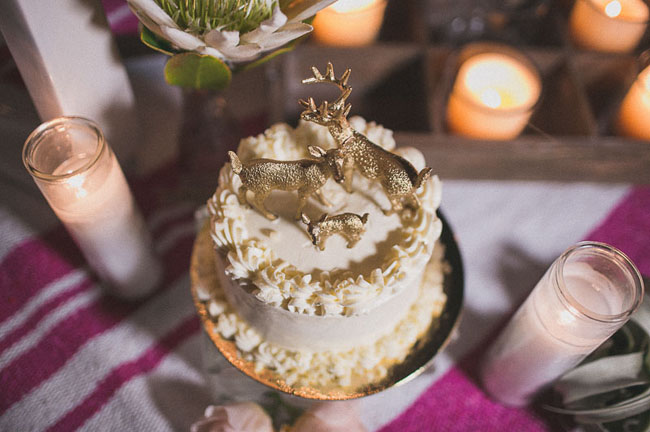 fauna cake toppers