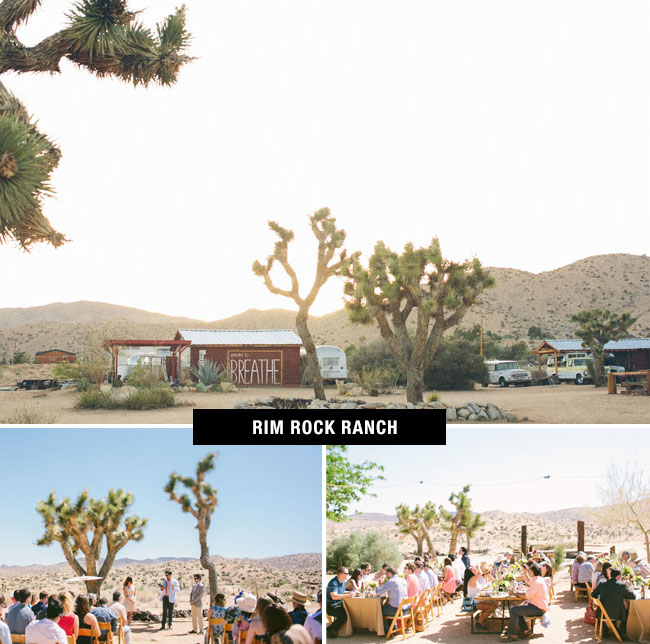 Rim Rock Ranch Wedding