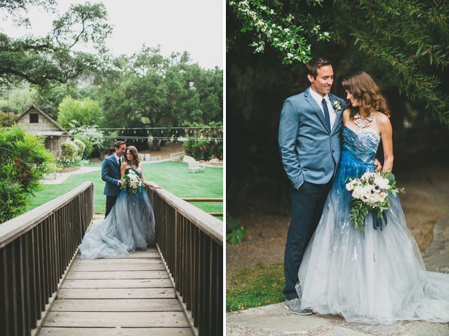 Ocean Blue Wedding Dresses