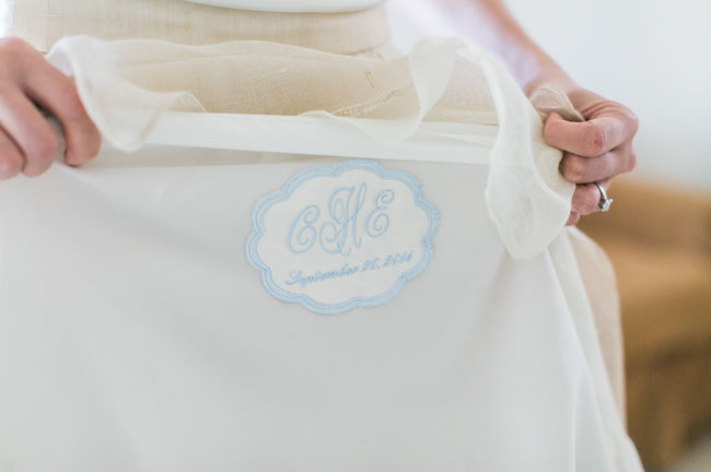 something blue dress embroidery