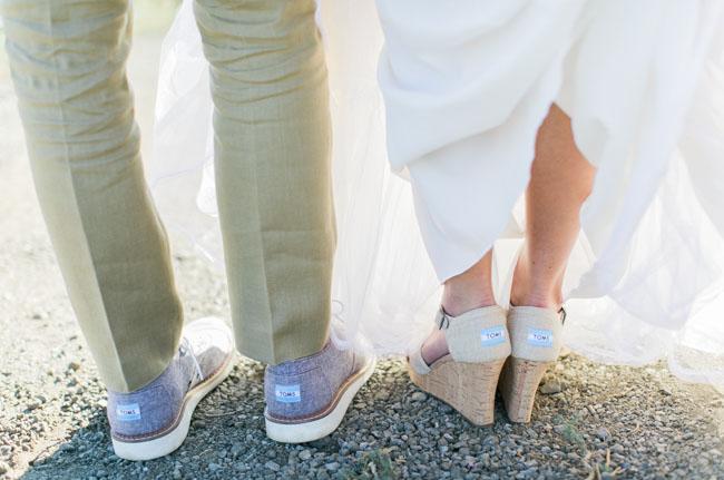 dc913448c4a Romantic Pastel Saddlerock Ranch Wedding  Cady + Page - Green ...