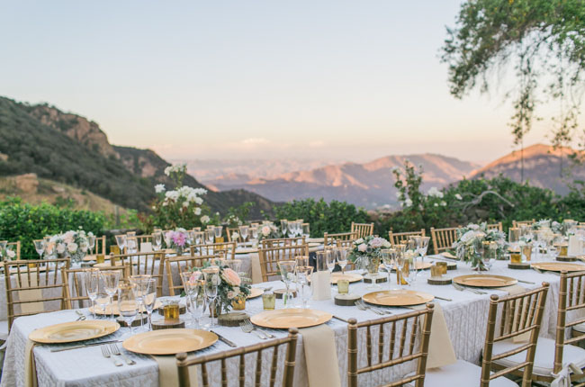 Malibu reception view