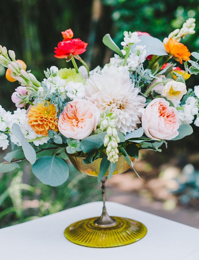 juliet rose centerpiece