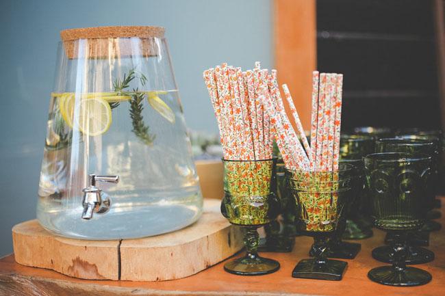 floral straws