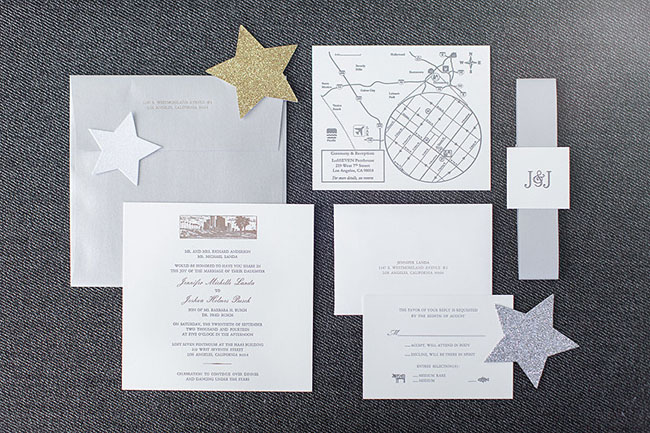 Starry invitation