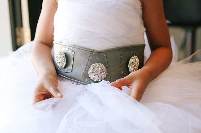 star wars flower girl belt