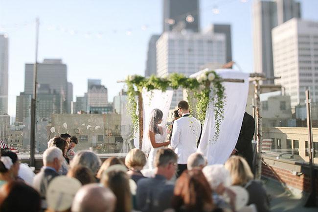 Loft Seven ceremony