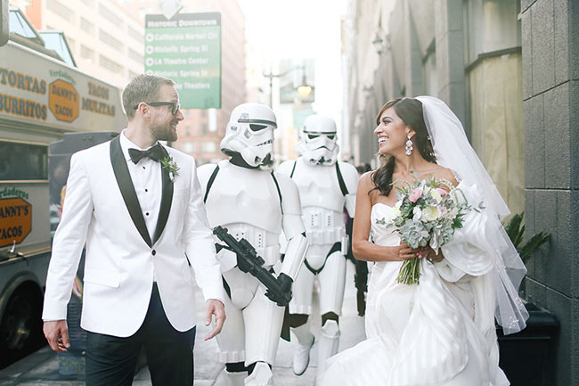 Star Wars inspired wedding