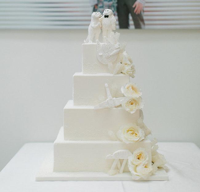 star wars inspired cake