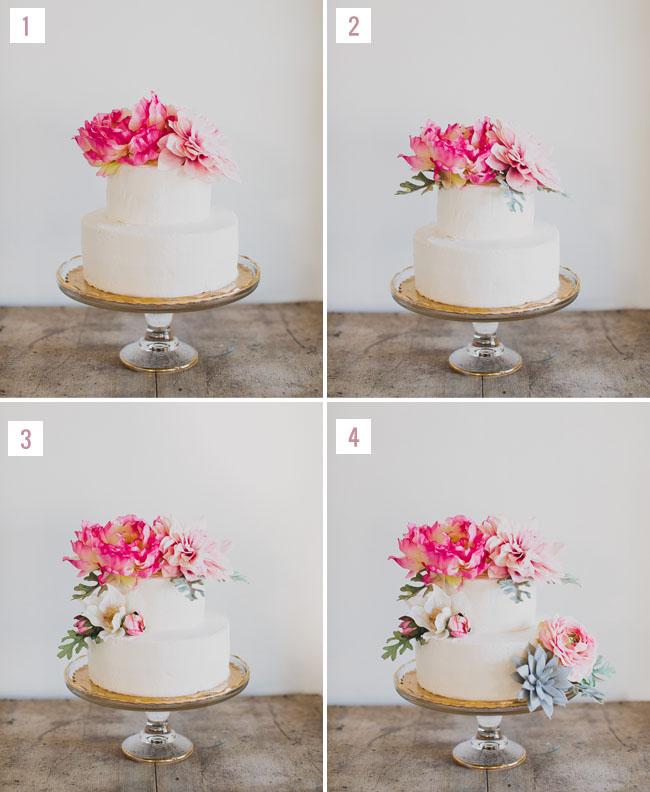 DIY Boho Wedding Cake Green Wedding Shoes Weddings ...