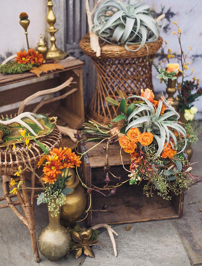 vintage display pieces