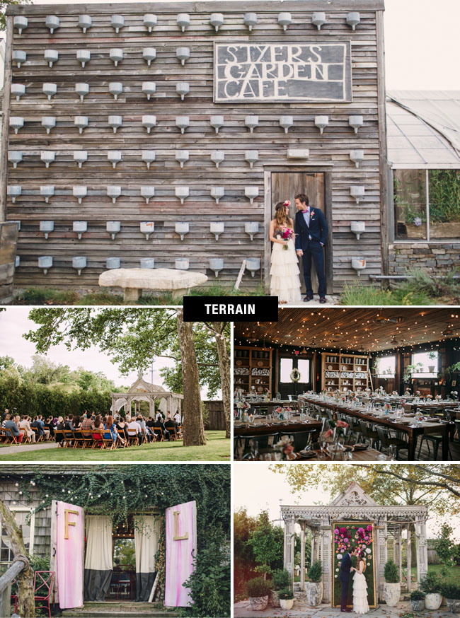 Terrain Anthropologie Wedding Venue