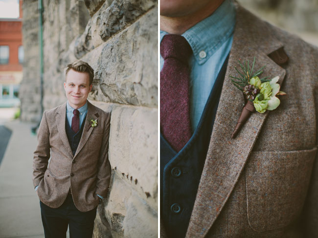 tweed grooms jacket