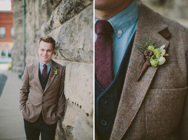 tweed grooms jacket