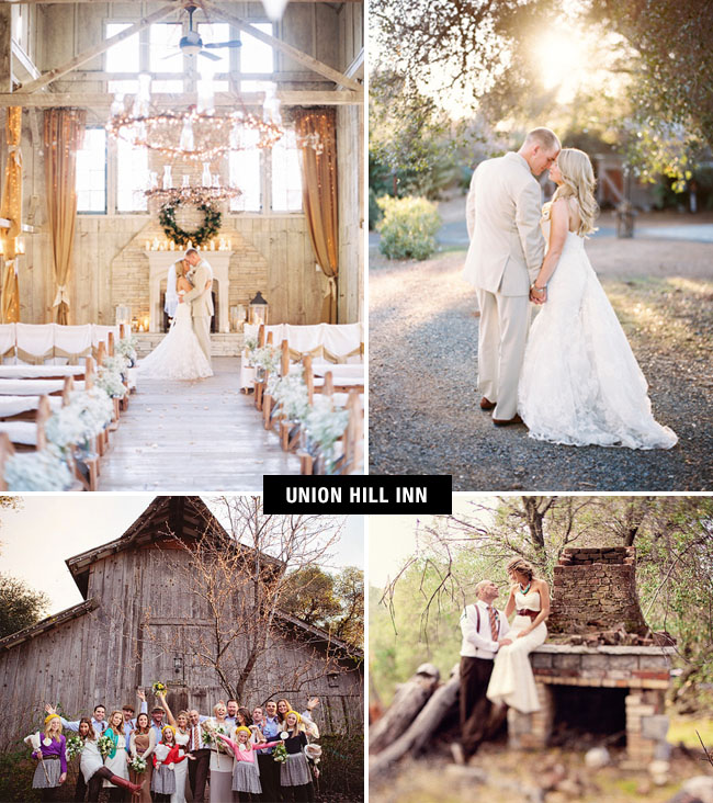 union hill inn wedding