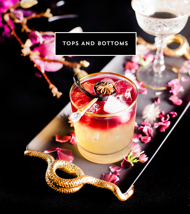 tops and bottoms cocktail