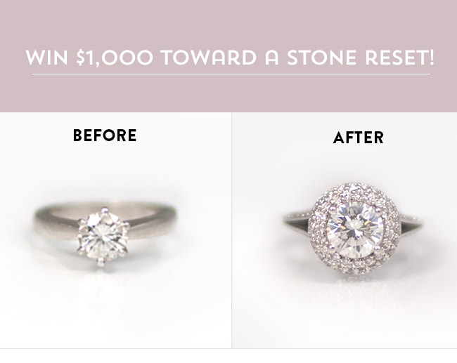 Win $100 towards your stone reset