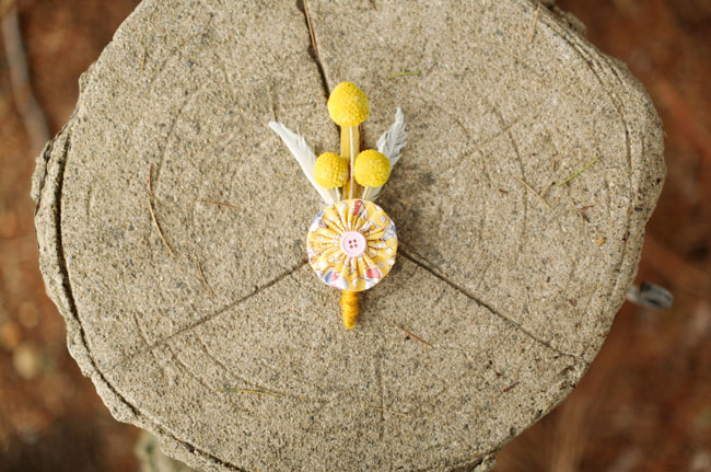 billy ball fan boutonniere