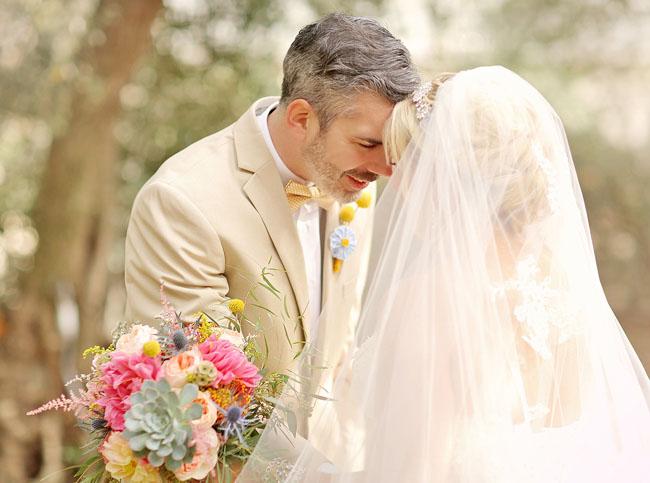 yellow inspired wedding