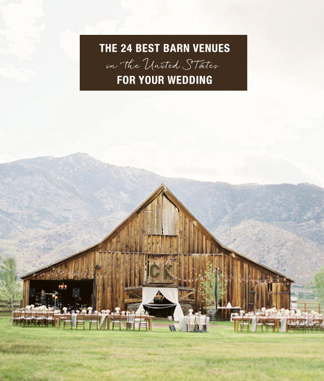24 Best Barn Venues For Your Wedding