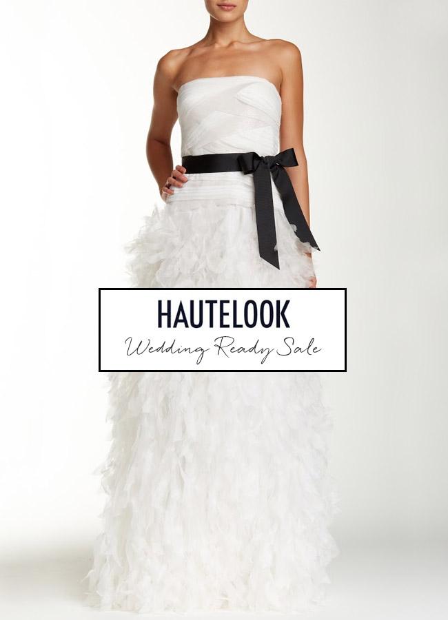 HauteLook Wedding Sale