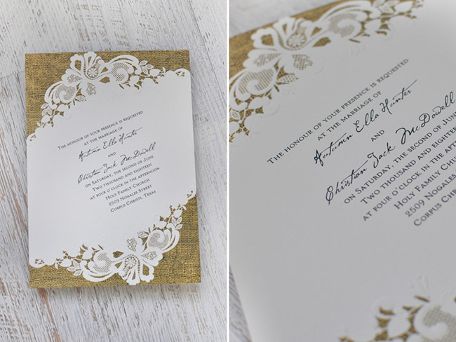 Boho Wedding Invites by Invitations by Dawn Green Wedding Shoes