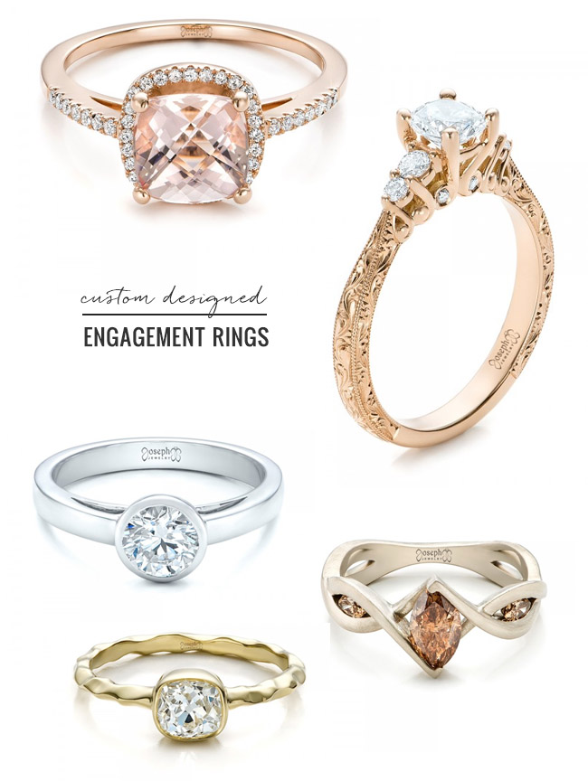 design your engagement ring with joseph jewelry green