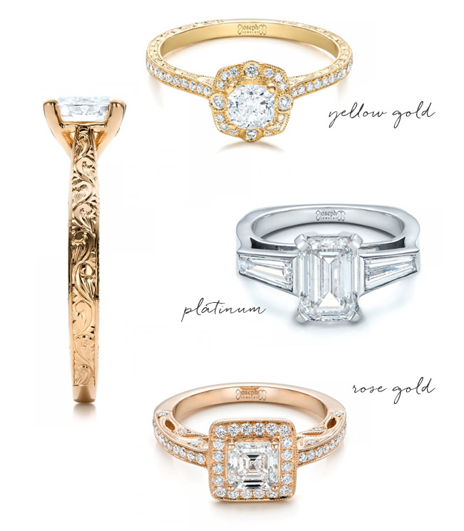 Design a Custom Ring with Joseph Jewelry