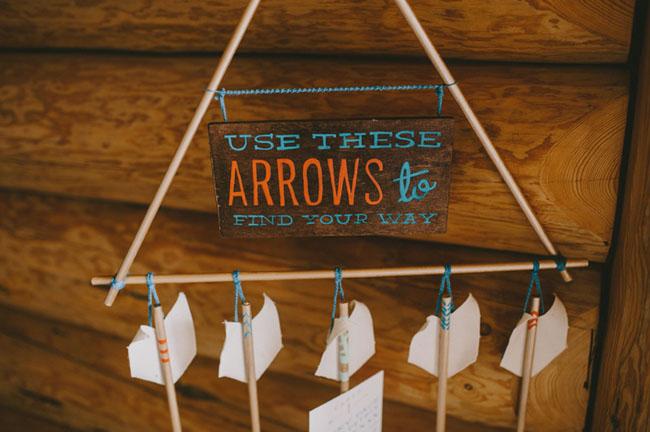 arrow seating chart